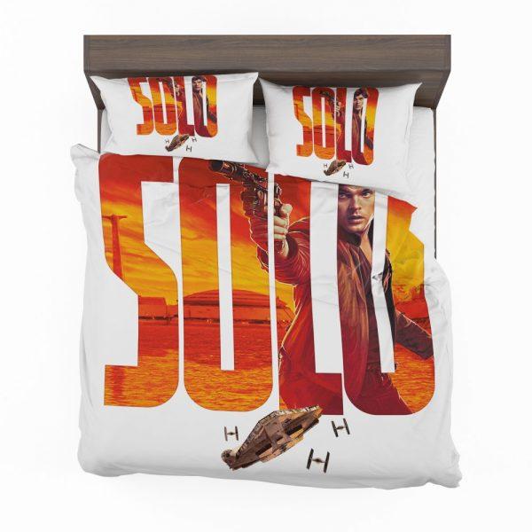 Solo A Star Wars Story Movie Alden Ehrenreich Han Solo Star Wars Bedding Set 2