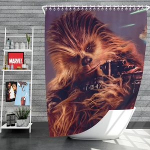 Solo A Star Wars Story Movie Chewbacca Shower Curtain