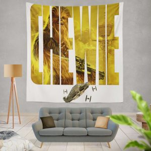 Solo A Star Wars Story Movie Chewbacca Star Wars Wall Hanging Tapestry