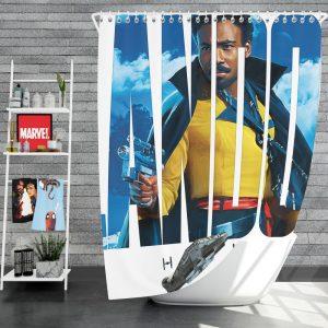 Solo A Star Wars Story Movie Donald Glover Lando Calrissian Star Wars Shower Curtain