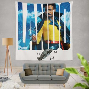 Solo A Star Wars Story Movie Donald Glover Lando Calrissian Star Wars Wall Hanging Tapestry