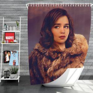 Solo A Star Wars Story Movie Emilia Clarke Qi'ra Shower Curtain