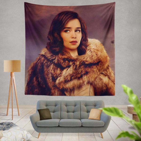 Solo A Star Wars Story Movie Emilia Clarke Qi'ra Wall Hanging Tapestry