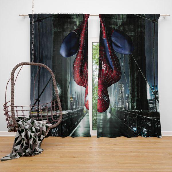 Spider-Man 3 Movie Spider Sense Window Curtain