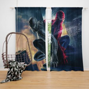 Spider-Man 3 Movie Window Curtain