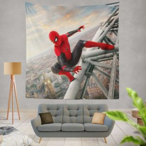 Spider-Man Far From Home Movie Marvel Wall Hanging Tapestry