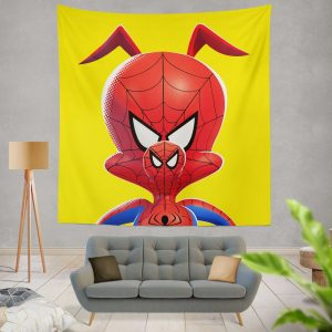 Spider-Man Into The Spider-Verse Movie Kids Wall Hanging Tapestry