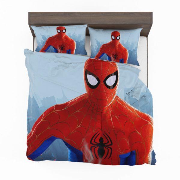 Spider-Man Into The Spider-Verse Movie MCU Bedding Set 2
