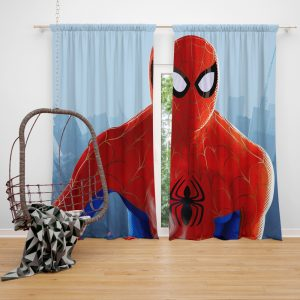 Spider-Man Into The Spider-Verse Movie MCU Window Curtain
