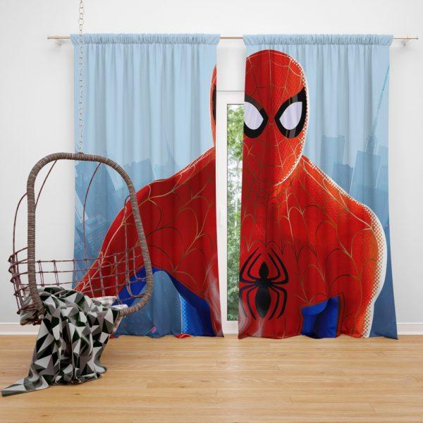 Spider-Man Into The Spider-Verse Movie MCU Window Curtain