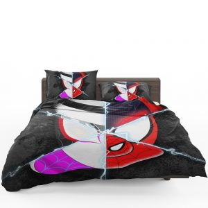 Spider-Man Into The Spider-Verse Movie Marvel Cinematic Universe Bedding Set 1