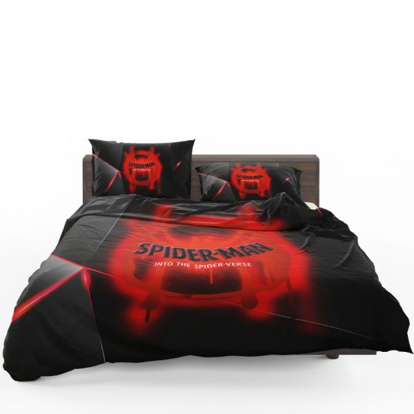 Spider-Man Into The Spider-Verse Movie Marvel MCU Universe Bedding Set 1
