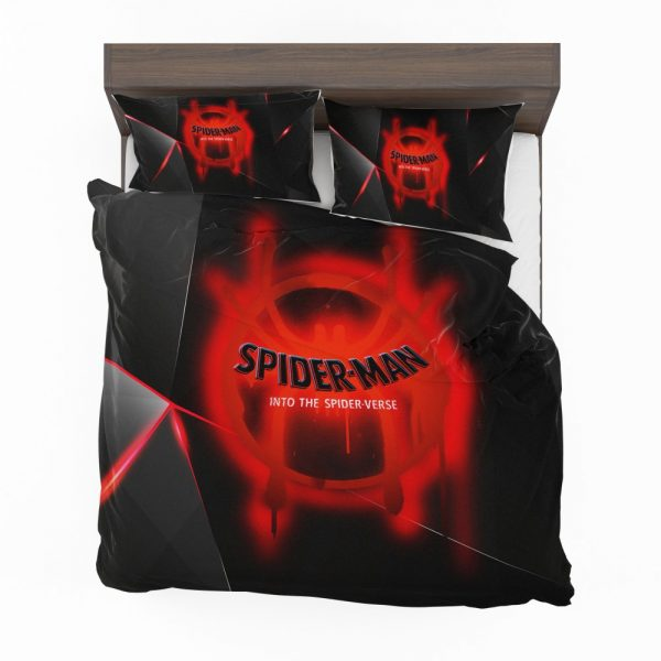 Spider-Man Into The Spider-Verse Movie Marvel MCU Universe Bedding Set 2