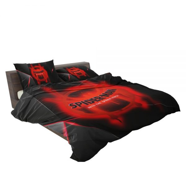Spider-Man Into The Spider-Verse Movie Marvel MCU Universe Bedding Set 3
