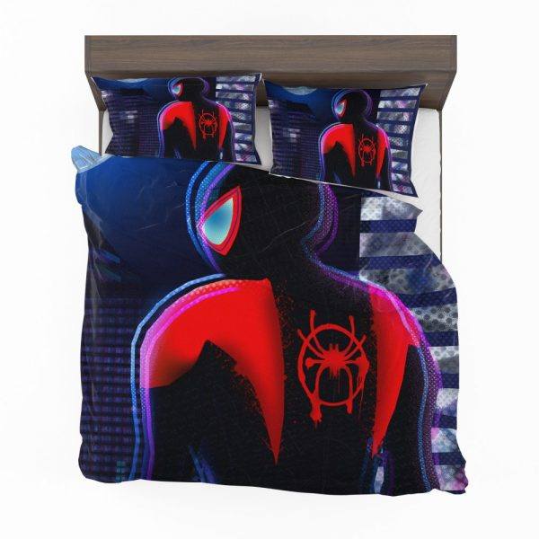 Spider-Man Into The Spider-Verse Movie Miles Morales Marvel Comics Bedding Set 2