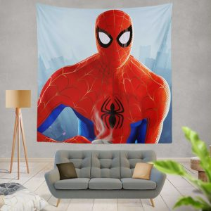 Spider-Man Into The Spider-Verse Movie Wall Hanging Tapestry