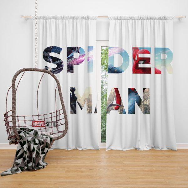 Spider-Man Movie Window Curtain