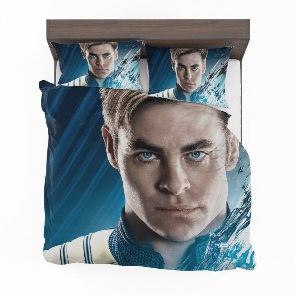 Star Trek Beyond Movie Chris Pine James T Kirk Bedding Set 2