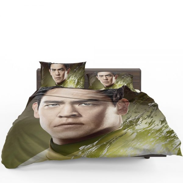 Star Trek Beyond Movie Hikaru Sulu John Cho Star Trek Beyond Bedding Set 1