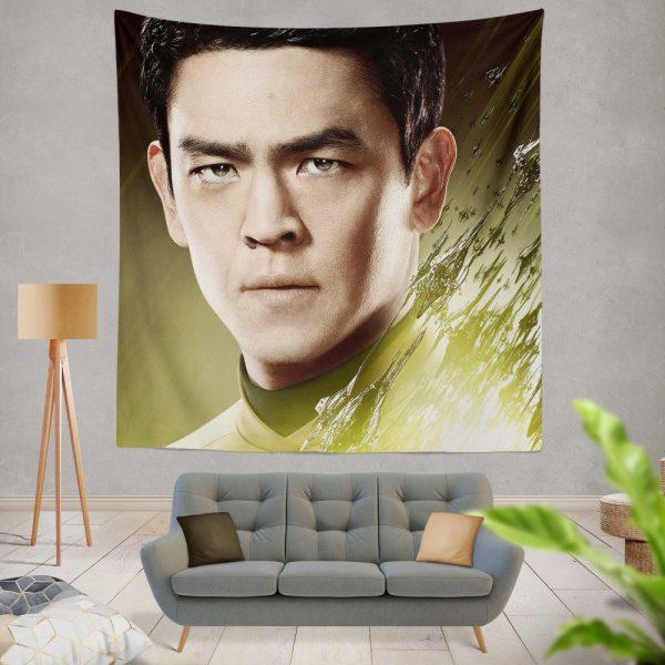 Star Trek Beyond Movie Hikaru Sulu John Cho Star Trek Beyond Wall Hanging Tapestry