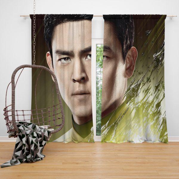 Star Trek Beyond Movie Hikaru Sulu John Cho Star Trek Beyond Window Curtain