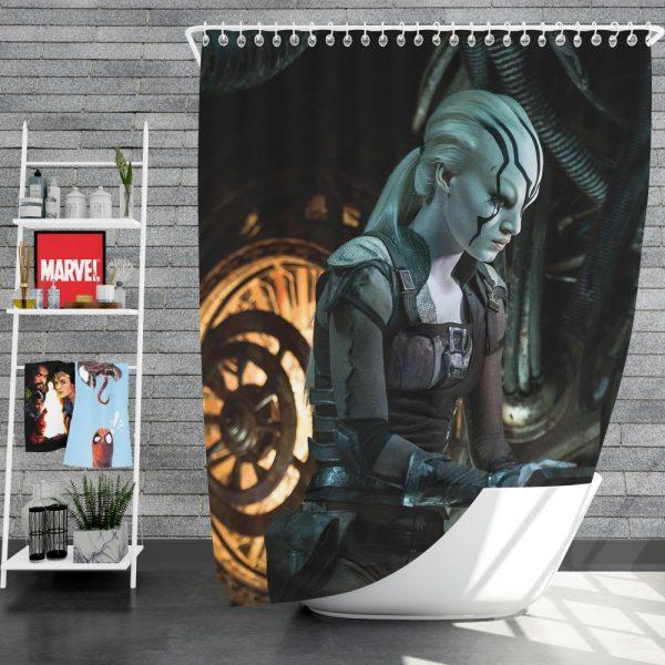 Star Trek Beyond Movie JaylahSofia Boutella Star Trek Beyond Shower Curtain