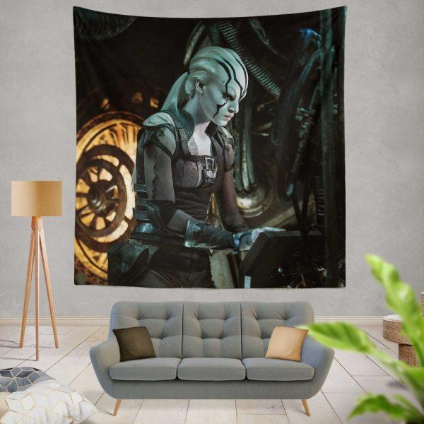 Star Trek Beyond Movie JaylahSofia Boutella Star Trek Beyond Wall Hanging Tapestry