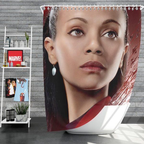 Star Trek Beyond Movie Nyota Uhura Star Trek Beyond Zoe Saldana Shower Curtain