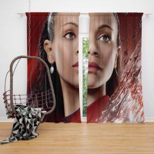 Star Trek Beyond Movie Nyota Uhura Star Trek Beyond Zoe Saldana Window Curtain