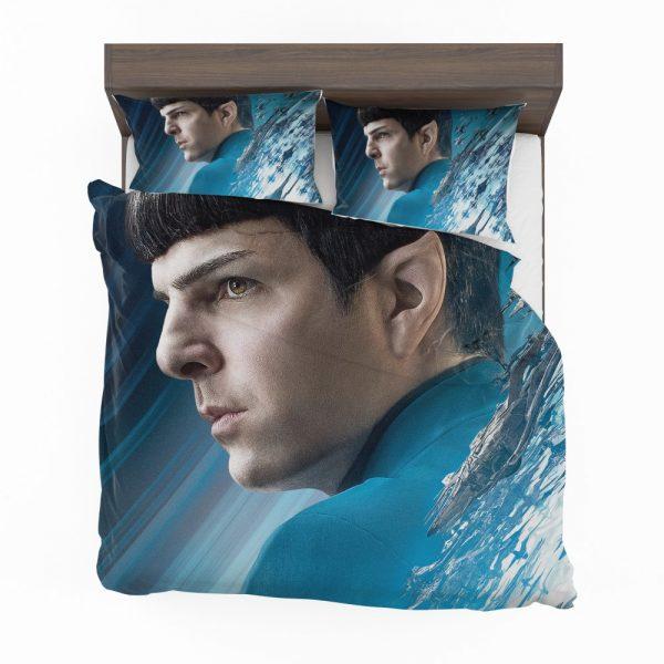 Star Trek Beyond Movie Spock Zachary Quinto Bedding Set 2