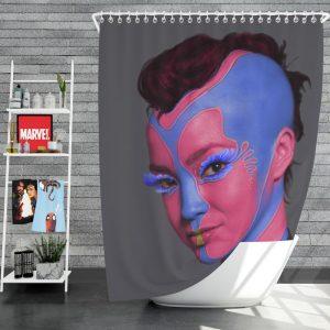 Star Trek Into Darkness Movie Sci-Fi Shower Curtain