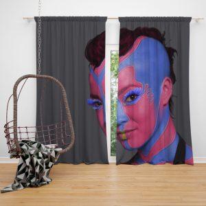 Star Trek Into Darkness Movie Sci-Fi Window Curtain