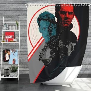 Star Trek Into Darkness Movie Shower Curtain