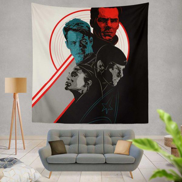 Star Trek Into Darkness Movie Wall Hanging Tapestry