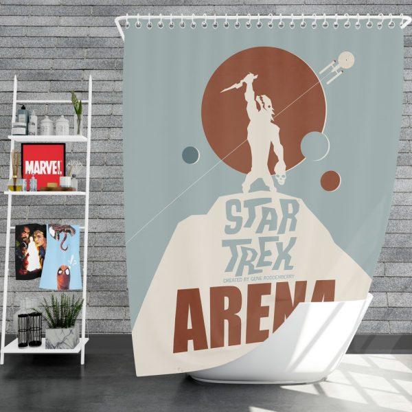 Star Trek The Original Series Arena Episode TV Show Shower Curtain