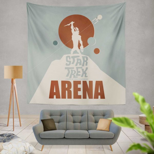 Star Trek The Original Series Arena Episode TV Show Wall Hanging Tapestry