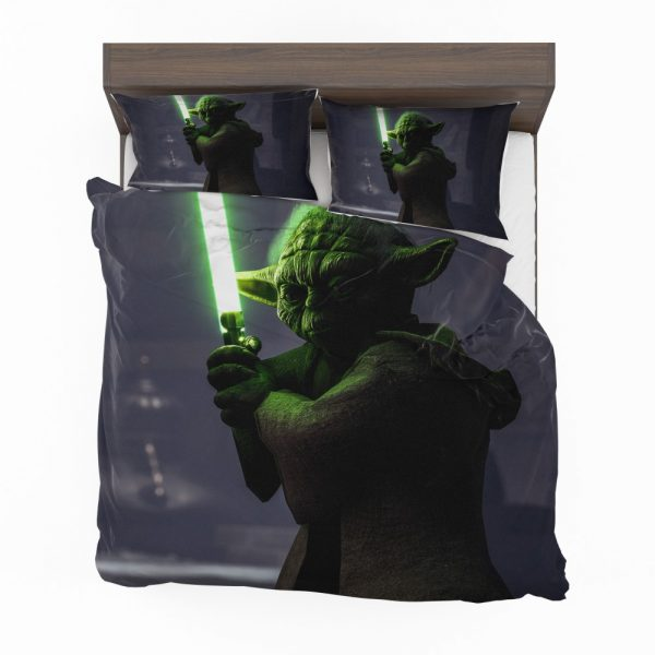 Star Wars Battlefront II 2017 Movie Yoda Bedding Set 2