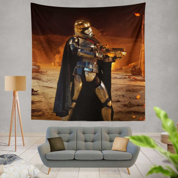 Star Wars Episode VII The Force Awakens Movie Captain Phasma Wall Hanging Tapestry