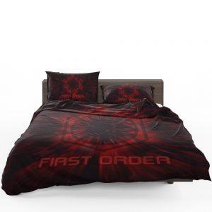 Star Wars Movie Black First Order Red Bedding Set 1