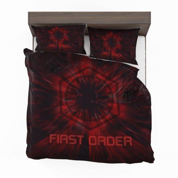 Star Wars Movie Black First Order Red Bedding Set 2