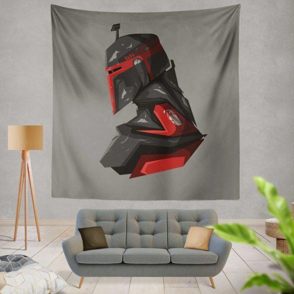 Star Wars Movie Boba Fett Jeremy Bulloch Wall Hanging Tapestry