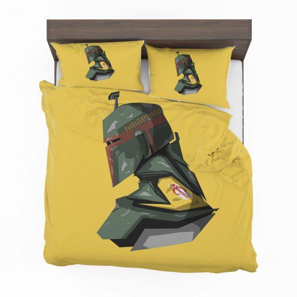 Star Wars Movie Character Boba Fett Bedding Set 2