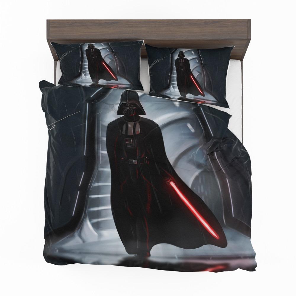Star Wars Movie Darth Vader Lightsaber Bedding Set
