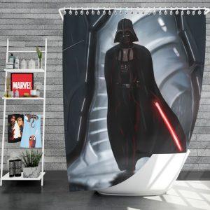 Star Wars Movie Darth Vader Lightsaber Shower Curtain