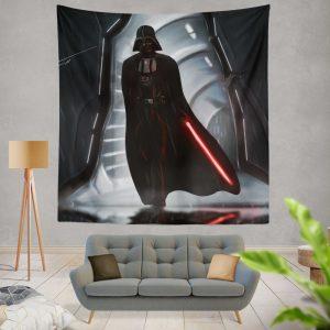 Star Wars Movie Darth Vader Lightsaber Wall Hanging Tapestry