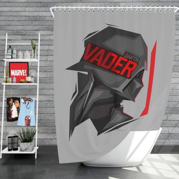Star Wars Movie Darth Vader Shower Curtain