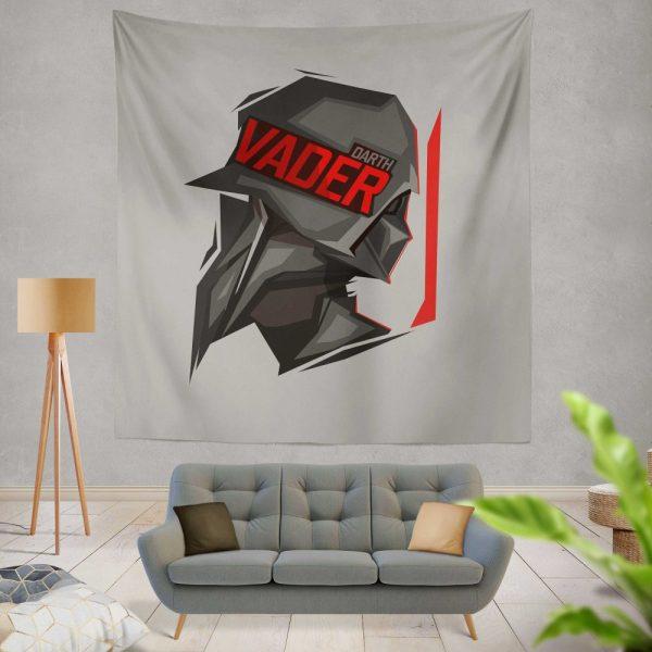 Star Wars Movie Darth Vader Wall Hanging Tapestry