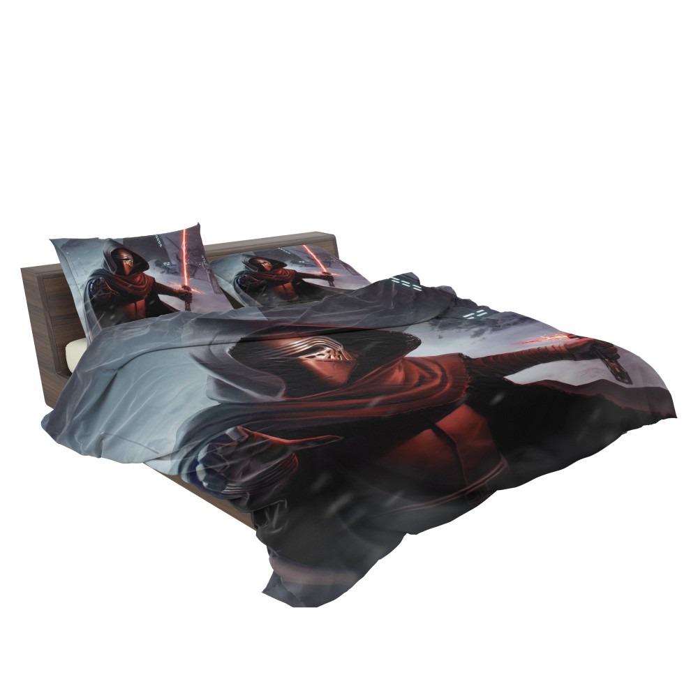 Star Wars Movie Kylo Ren Lightsaber Stormtrooper Bedding