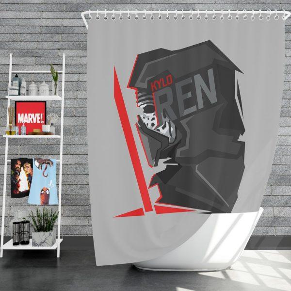 Star Wars Movie Kylo Ren Shower Curtain