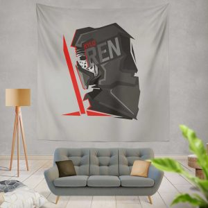 Star Wars Movie Kylo Ren Wall Hanging Tapestry